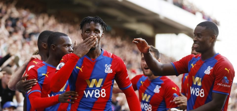 Exclusive: Pundit can see Wilfried Zaha signing a new contract at Crystal Palace