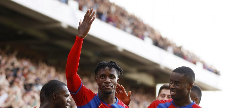Crystal Palace: Wilfried Zaha was the Eagles' standout performer v Spurs