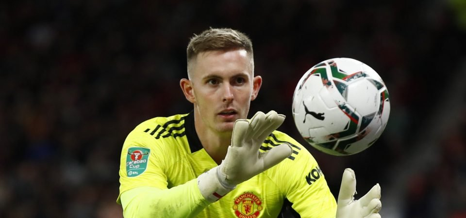 Dean Henderson wants a loan move away from Manchester United