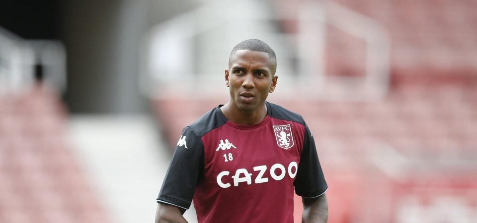Aston Villa's Ashley Young was shocking vs Chelsea in the Carabao Cup