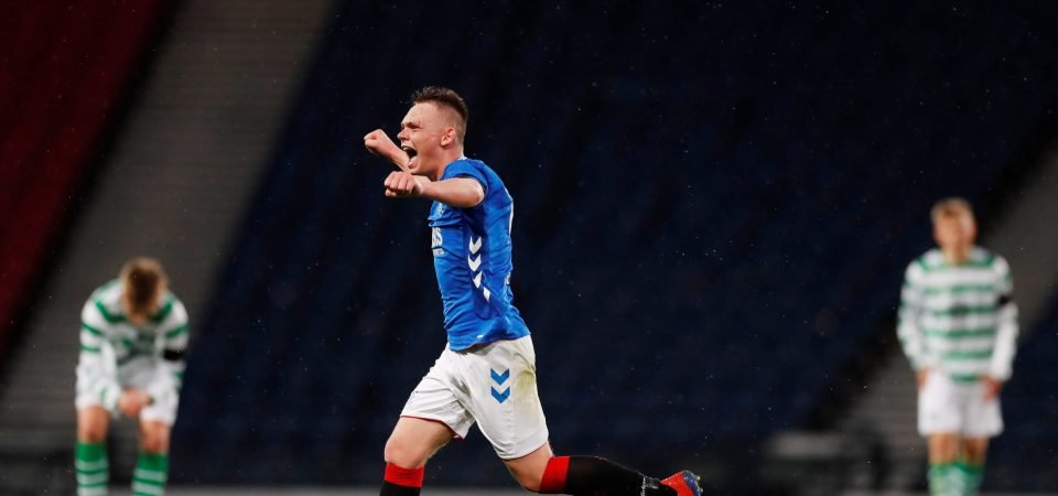 Celtic could have another Turnbull in Ciaran Dickson