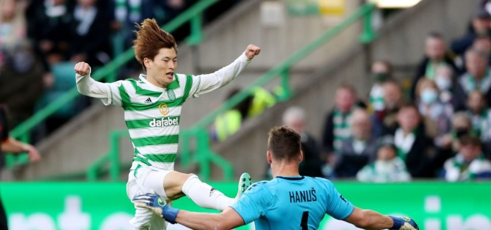 Celtic to be without Kyogo Furuhashi for a month