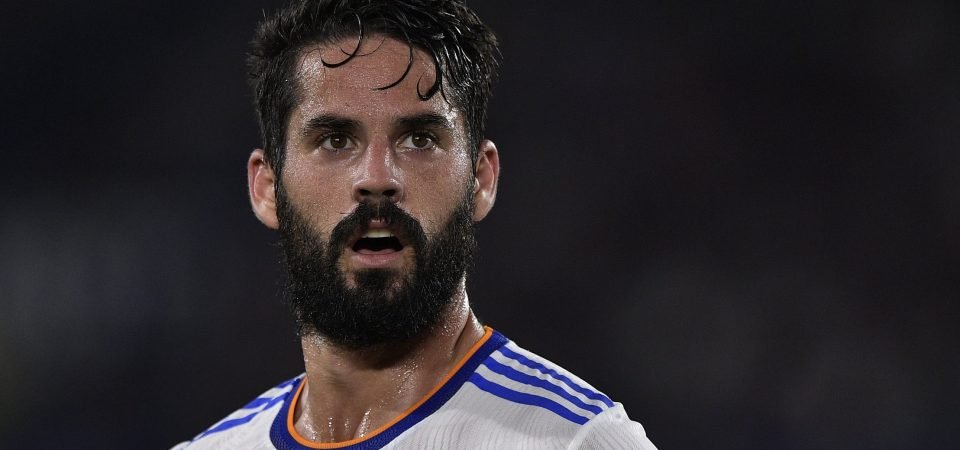 Everton named as likely destination for Isco