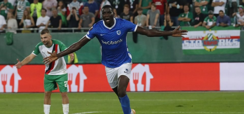 Genk's Paul Onuachu likely to join West Ham in January
