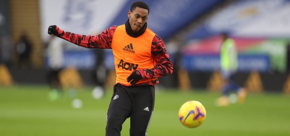 Spurs risk disaster with Anthony Martial