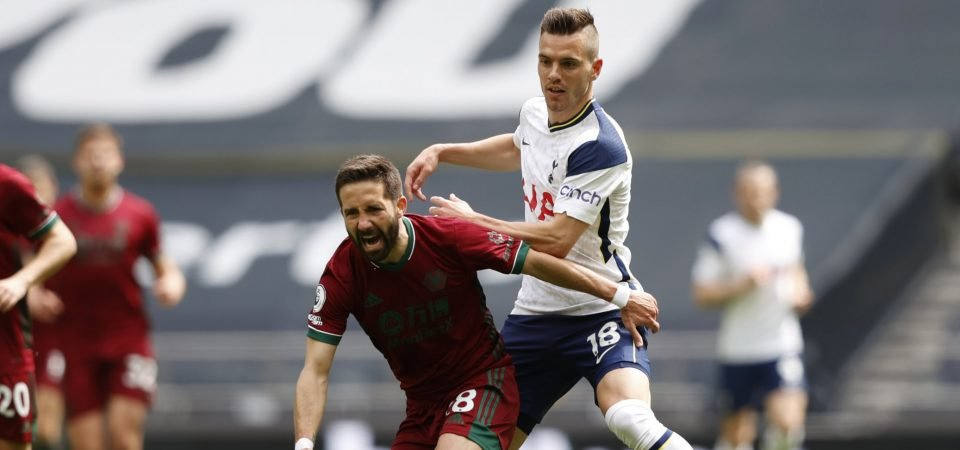 Giovani Lo Celso disappoints on return to Spurs' starting XI