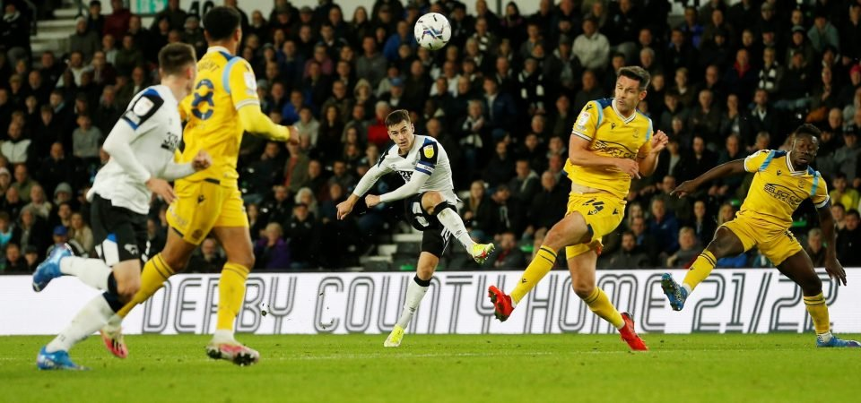 Derby County: Tom Lawrence ran the show vs Reading