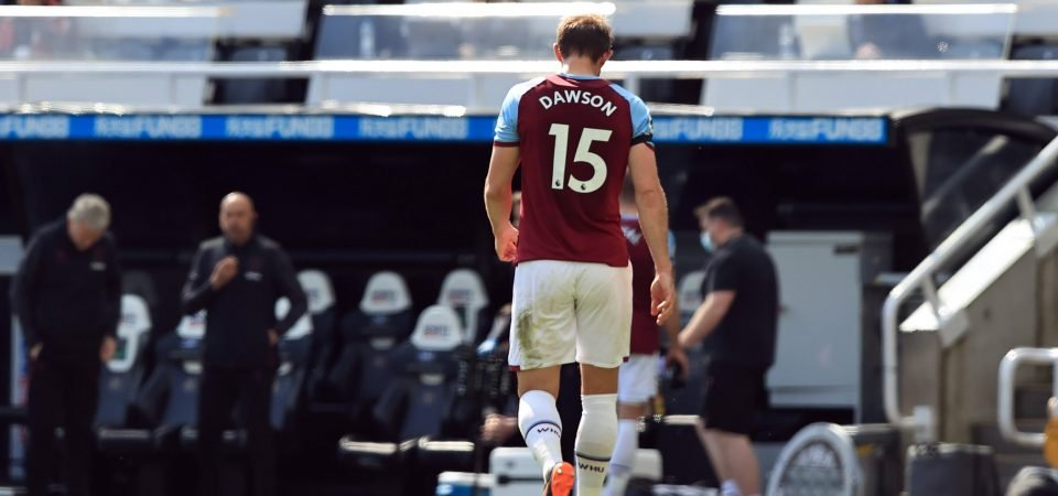 David Moyes must now axe regular from his West Ham starting XI