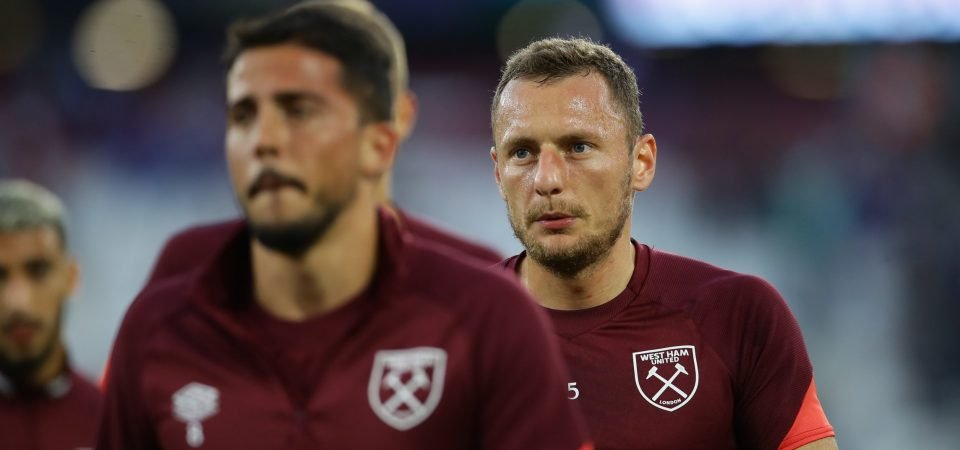 West Ham receive Vladimir Coufal contract boost