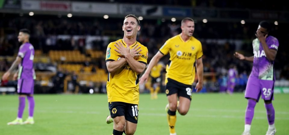 Wolves should unleash Daniel Podence this weekend