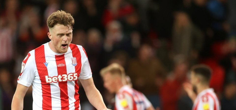 Everton are eyeing up a move for Stoke City's Harry Souttar