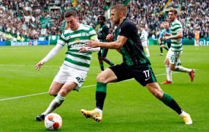 Celtic: Callum McGregor was on fire this weekend