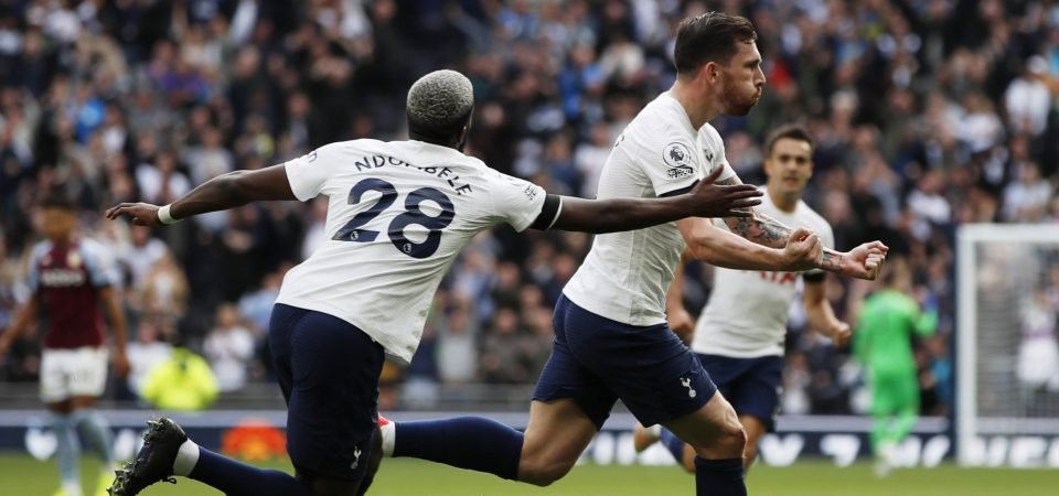 Pierre-Emile Hojbjerg ran the show in Spurs' win over Aston Villa
