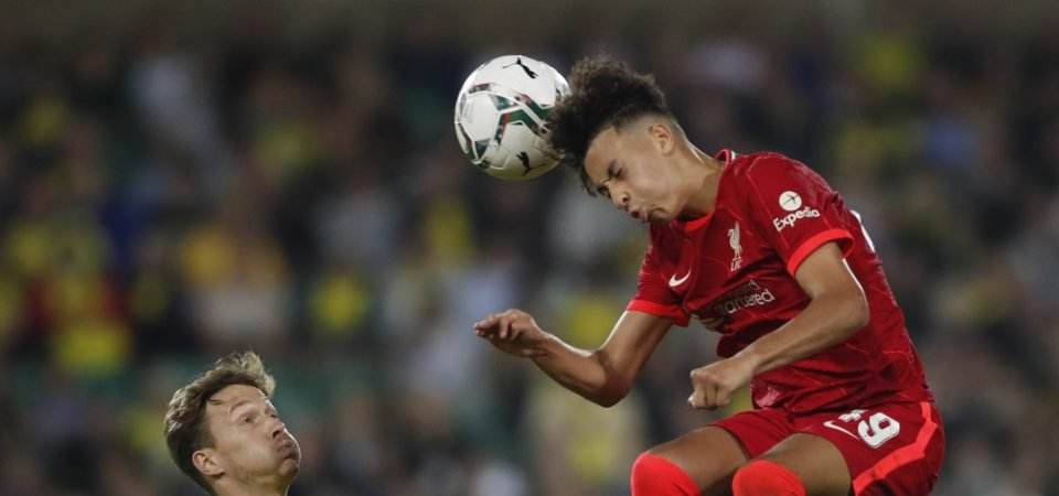 Liverpool could have Mohamed Salah replacement in Kaide Gordon